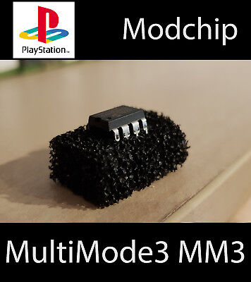 MultiMode3 MM3 Modchip for Playstation PAL NTSC NTSCJ (PSX, PS1 Chip)