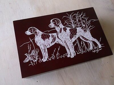 Brittany- New design, hand engraved Jewelry Box by Ingrid Jonsson