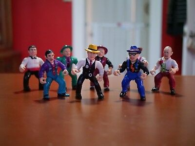 Dick Tracy Action Figure Lot Of 8 Disney Playmates 1990