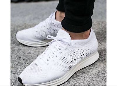 incredible prices shoes for cheap best wholesaler where to buy nike flyknit racer blanc bleu ciel 9dc6e a439f