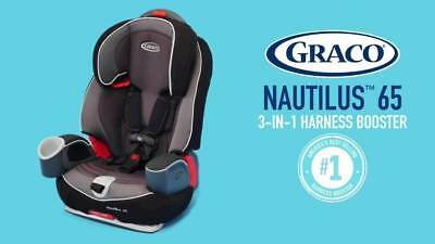 NEW Graco Nautilus 65 3 In 1 TRACK Harness Booster Convertible Toddler Car Seat