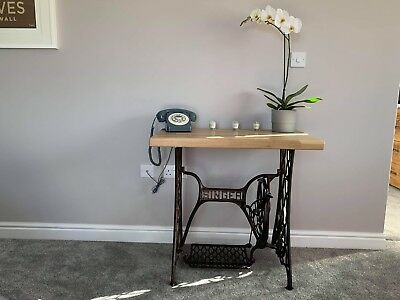 Upcycled Singer Trestle Table