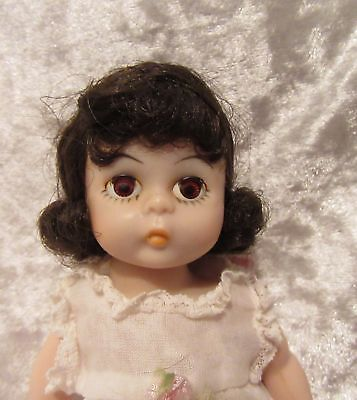 "8"" MADAME ALEXANDER VINTAGE ALEXANDERKINS WITH LITTLE GENIUS DRESS ~No BOX"
