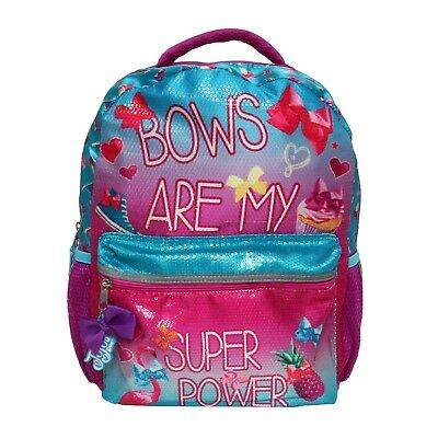Nickelodeon JoJo Siwa - Bows are my Super Power - Backpack - FREE BOW HAIR TIE
