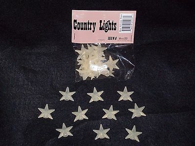 25 Pack Silicone Star Covers
