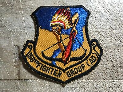 Cold War/Vietnam? US AIR FORCE PATCH-158th FIGHTER GROUP (AD)-ORIGINAL USAF!