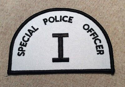 NJ New Jersey Special Police Officer I Patch