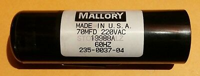 Genie/overhead Door 70Mfd Tall Motor Starting Capacitor - P/n: X-19988-A