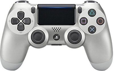Official DualShock PS4 Wireless Controller for PlayStation 4 - Silver - NEW