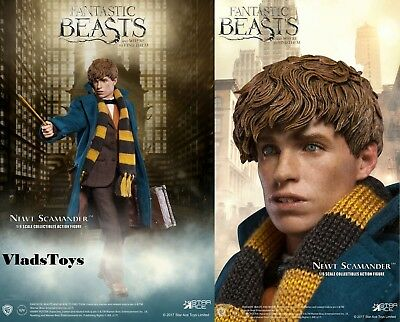 Star Ace 1/6 Fantastic Beasts & Where to Find Them Newt Scamander Figure SA-0047