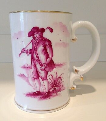 Hochst Golf Mug Hand-Painted Porcelain Made in Germany New