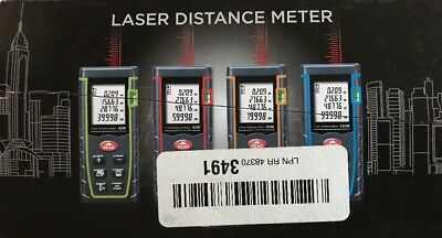 Digital LCD Laser Distance Meter Range Finder Measure Diastimeter 40M/131FT USA