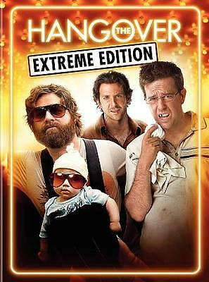 The Hangover (Extreme Edition) (2-DVD)  NEW/SEALED   FREE SHIPPING