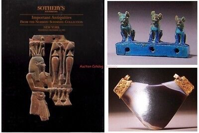 Sothebys NY catalog #6382 The N Schimmel Antiquities Collection Hardcover 1992