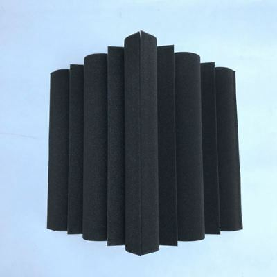 4X(4 pcs Corner Bass Trap Acoustic Panel Studio Sound Absorption Foam 12*1 I9E7)