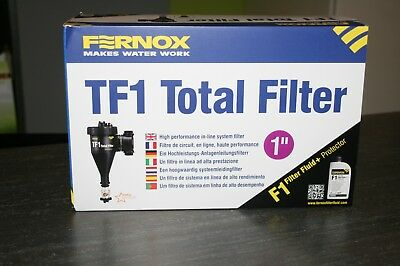 Fernox Tf1 Total Filtre 1'' Neuf.