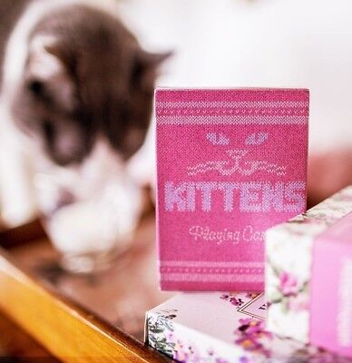 Bicycle Ellusionist Madison Kittens US Playing Cards Magic Poker New