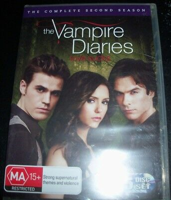Vampire Diaries The Complete Second Season 2 (Australia Region 4) DVD – New