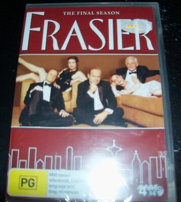 Frasier : The Complete Eleven Series Final Season 11 (Aust Region 4) DVD – New