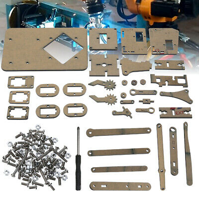 DIY Robot Arm Kit Robotic Claw Set MULTI SCREWS + ASSEMBLED ACCESSORIES + SERVO
