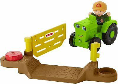 Fisher Price Petits Gens Véhicle Utile Harvester Tracteur