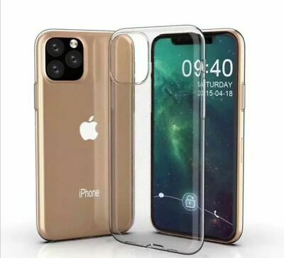 Luxury Ultra Slim Shockproof Silicone Clear Case Cover for iPhone X Xs XR Xs max