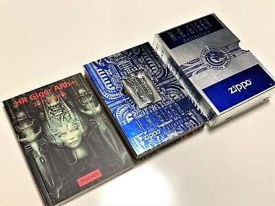 Mega Rare! New ZIPPO Limited Edition H.R. Giger Alien Double-Sided 3D Lighter