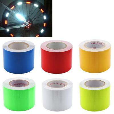 10cmx25m Safety Mark Reflective Tape Stickers Car Styling Self Adhesive WT