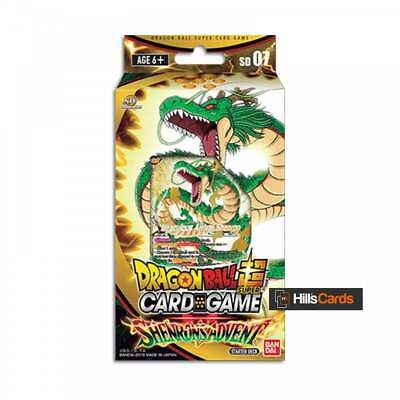 Dragon Ball Super Card Game: Shenron's Advent Starter Deck SD07 Z - Bandai