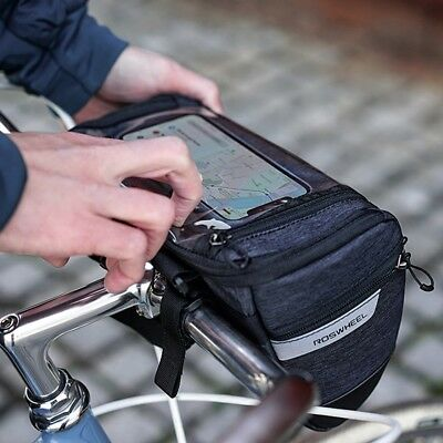 4X(ROSWHEEL 111459 Water Resistant Touchscreen Cycling Bike Bicycle Handle Y1X4)