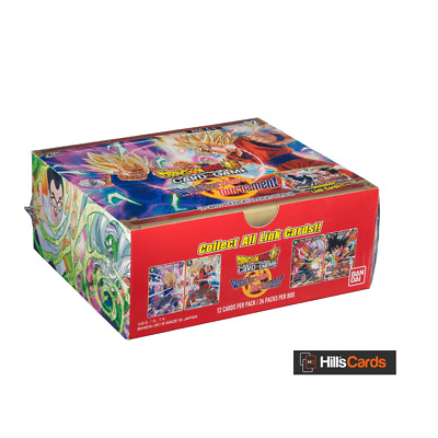 Dragon Ball Super Card Game World Martial Arts Tournament Booster Box: 24 Packs