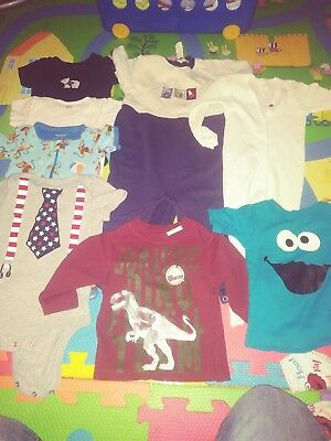 Baby boy clothes 12-18 months lot of 49 pieces