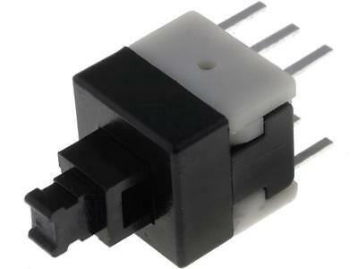 5x BS800N Microswitch 1-position DPDT 0.1A/30VDC THT 1.6N 8x8mm 13.5mm BS-800-N