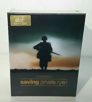 SAVING PRIVATE RYAN 4K UHD & Blu-ray STEELBOOK [HDZETA] 1-CLICK BOXSET  #007/500