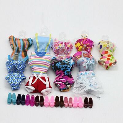 Doll Swimwear Swim Wear Swimming Suit Clothes for Barbie Dolls Hot Useful Stock