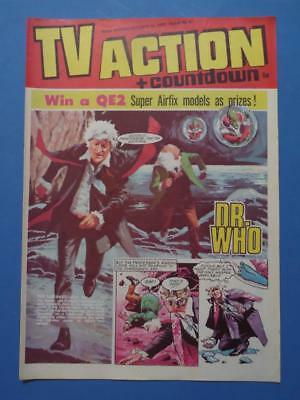 Tv Action + Countdown 87 1972 Dr Who Stingray Captain Scarlet! Very Nice!