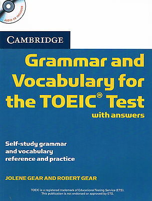 Cambridge GRAMMAR AND VOCABULARY FOR THE TOEIC TEST w Answers & CD @NEW BOOK@