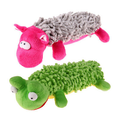 Pet Puppy Dog Cat Toy Funny Puppy Chew Squeaker Squeaky Plush Play Sound Toy V