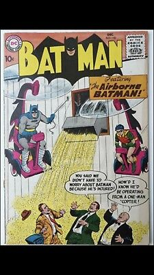 Batman #120 - December 1958 Issue Unofficial Grade FN+ (7.0) DC Comic Silver Age