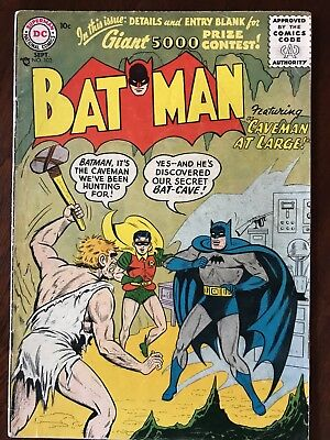 Batman #102 - September 1956 Issue Unofficial Grade VG/VG+ DC Comic Silver Age