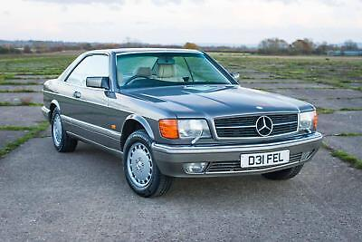 1986 Mercedes-Benz C126 560SEC - 2 Owners, FSH (23 Stamps), Attractive combo