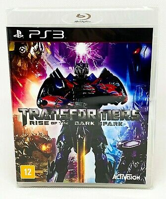 Transformers: Rise of the Dark Spark - PS3 - Brand New | Portuguese Cover