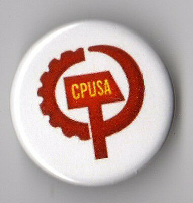 Communist Party USA campaign button pin early 2010s #3