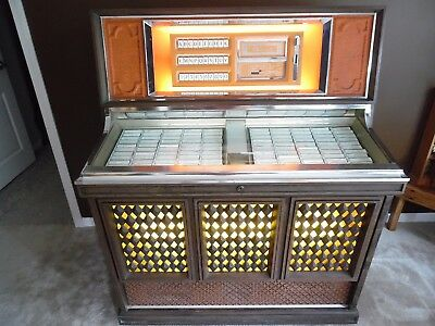 1970's Model ROWE AMI MM6 Jukebox ~WORKING~ Holds 100 45's ~GC~ ~Pick up only~