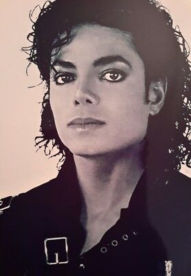 Michael Jackson Face Young Iconic A4 Poster Picture Print A4 Wall Art 1