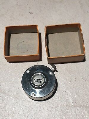 Vintage Original Tally Register Co Counter, Reciprocating Hand Held - with Box