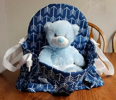 Buggy Bench Shopping Cart Seat in Ocean Blue for  Baby Toddler Twins high chair