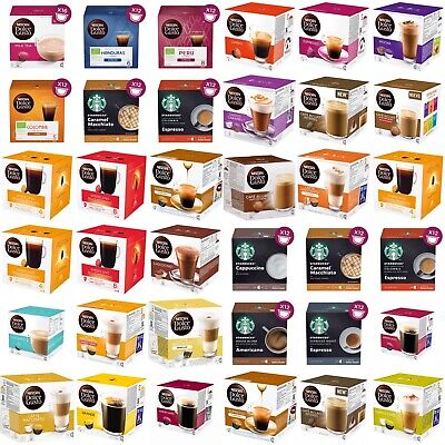 NESCAFE DOLCE GUSTO COFFEE 16 CAPSULES(BOX)-Buy 3 Get 1 FREE (Add 4 to basket)