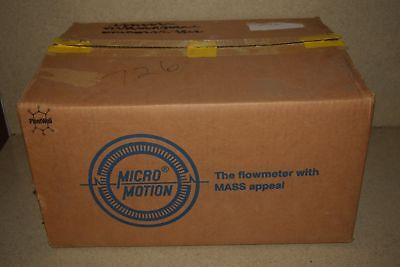 ^^ Micro Motion Elite Model # Cmf010M323Nu Mass Flow Sensor- New In Box!
