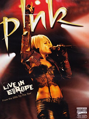 Pink - Live In Europe DVD NEUF